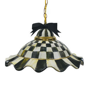 Mackenzie Childs Other - MACKENZIE CHILDS Courtly Check Fluted Light